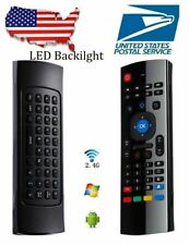 6-Axis Backlight 2.4G Wireless Fly Air Mouse Remote Control For TV Box Android