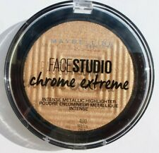 Maybelline FaceStudio Chrome Extreme Metallic Highlighter - 400 Molten Gold