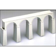 Atlas 2826 N-Scale Viaduct KIT 4-Arch Cut Stone Masonry Single-Track Bridge