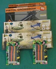 Pistal Crossbow (2) and Bolt Action Crossbow (2) Extra Arrows