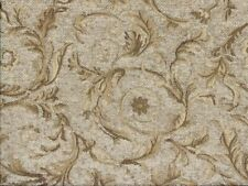 Saxon 4678 Scroll Oatmeal 100% Polyester Fabric