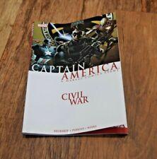 The Road To Civil War Marvel PB comic graphic novel Captain America PB