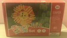 Jar Melo Fingerpaint Set - 15 paint papers and 4 Tubes; Non Toxic Finger Paint