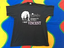 RARE VINTAGE 80s BEAUTY AND THE BEAST VINCENT TSHIRT TV SHOW RON PERLMAN