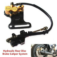 Motorcycle Pit Bike Hydraulic Rear Disc Brake Caliper w/Master Cylinder Brake