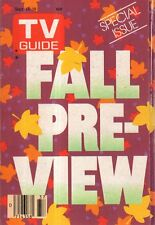1986 TV Guide Fall Preview-Life with Lucy; Valerie; Matlock; Alf;Designing Women
