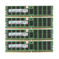 4x For Samsung 16GB 2Rx4 PC4-2133P 17000 DDR4 2133MHz ECC Server Memory RAM @ST