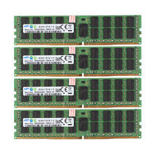 4x For Samsung 16GB 2Rx4 PC4-2133P 17000 DDR4 2133MHz ECC Server Memory RAM @ST