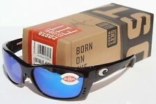 COSTA DEL MAR Fisch POLARIZED Sunglasses Tortoise/Blue Mirror Global Fit NEW