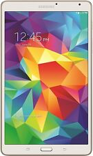 "Samsung Galaxy Tab S T707V Android 8.4"" 16GB White (Verizon) 60-Day Warranty"