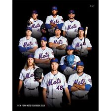 2019 NEW YORK METS OFFICIAL YEARBOOK ALONSO CANO DEGROM SYNDERGAARD BONUS