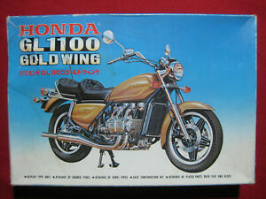 1980 Honda GL1100 Gold Wing 1:15 Fujimi Japan Vintage Model Kit Motorcycle Rare
