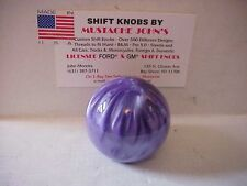 Purple Solid Pearl Shift Knob, Custom made