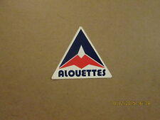 CFL Montreal Alouettes Vintage Football Team Sticker