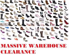 CLEARANCE  100 pairs of shoes boots sandals all BRAND NEW & BOXED