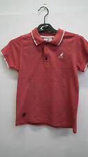 Red Kangol Polo Shirt Age 9-10 years