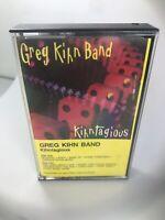 The Greg Kihn Band Kihntagious Cassette Beserkley Records