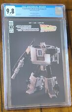Transformers Back to the Future Toy Variant 1:25 CGC 9.8 DeLorean Time Machine