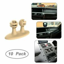 Car Cable Clip, JOTO Car Charger Mounts Cable Tie Holder beige 2 packs of 10