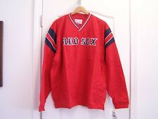 BOSTON RED SOX V-NECK PULLOVER WINDBREAKER. XLG. New with tags