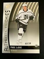 2017-18 SP Game Used #121 Paul LaDue/38 TRUE RC
