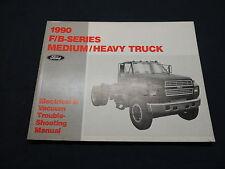 Ford f/B serie Medium/heavy truck 1990 Electrical manual taller de libro de mano