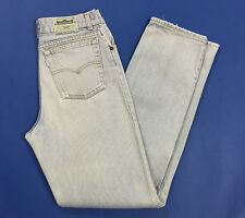 Levis W30 tg 44 vintage jeans uomo usato denim gamba dritta boyfriend T3722