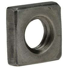 DIN 562 Vierkantmutter, niedrige Form, M 8, 04 Au (Stahl - gedreht) blank