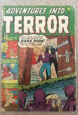 Adventures into Terror # 6 Golden Age Pre-Code Horror Atlas Marvel Comics 1951