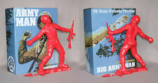 "Frank Kozik SIGNED AUTOGRAPHED 17"" Red Big Army Man Ultraviolence LE 50 Bust"