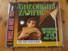 GHEORGHE ZAMFIR Twice as Nice Masterpiece of the King of the Pan-Flute 2CD