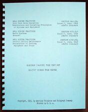 Hickok KS-5727 Bell System Practices Tube Tester Manual