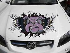 Bonnet Bulldog Decal Sticker Vinyl car Free Post large Ute Truck Trailer Boat rv