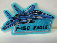 Un écusson aufbügler patch F 15c Eagle - 6 x 10 CM