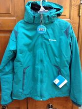 Columbia Arctic Freeze 3-in-1 Interchange Parka Jacket Women's M Teal Green NWT