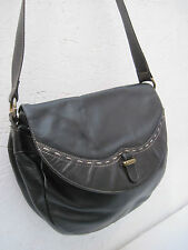 -AUTHENTIQUE  sac besace ZENITH  cuir   TBEG  bag vintage