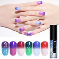 LILYCUTE 5ML Thermal UV Gel Gellack Tränken weg UV Gel Nails Farbwechsel DIY