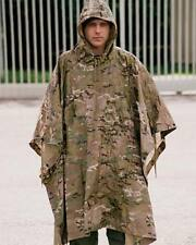 Poncho Ripstop Multitarn -colores Multicam Impermeable camuflaje caza airsoft
