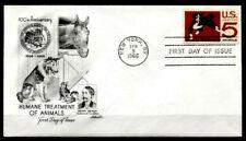 Amerikanischer Tierschutz-Verein. Pferd, Hund, Katze. FDC. USA 1966
