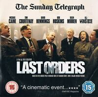 Last Orders  - DVD N/Paper