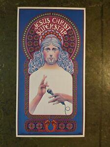 Vintage Sticker - Jesus Christ Superstar the Musical - David Byrd Artwork