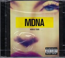 CD ♫ Compact disc «MADONNA • MDNA • WORLD TOUR» nuovo