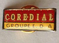 Core Dial Groupe EDA Pin Badge Rare Vintage Advertising (F9)