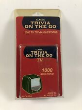 Fundex Classic TV Trivia Travel Game On The Go 50 Cards 1000 Questions 2005 Car