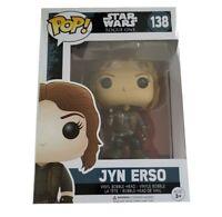 POP Funko Star Wars Rogue One JYN ERSO Vinyl Bobble Head Television Toy 138