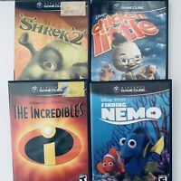 Lot of 4 Ninteno Gamecube Games Case And Disc Only Tested