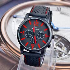 2015 Men Fashion Military Stainless Steel Sport Racing Quartz Analog Wrist Watch