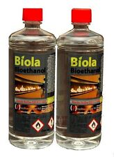 BIOETHANOL FUEL, 2 x 1L Bottles. FREE DELIVERY UK & IRELAND. 97% PURE