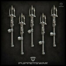 Five models of Tridents with a right hand Puppetswar X068