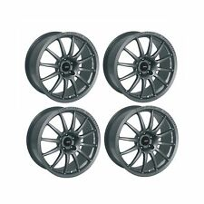 4 x Team Dynamics Graphite Satin Pro Race 1.2 Alloy Wheels- 5x112 | 18x8""
